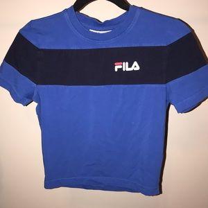 Women's FILA crop top